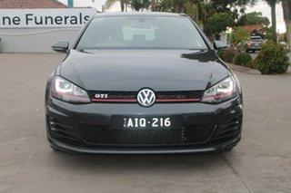 2016 Volkswagen Golf AU MY16 GTi Black 6 Speed Direct Shift Hatchback.