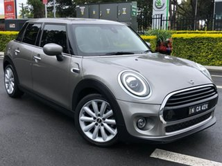 2019 Mini Hatch F55 LCI Cooper DCT Silver 7 Speed Sports Automatic Dual Clutch Hatchback.