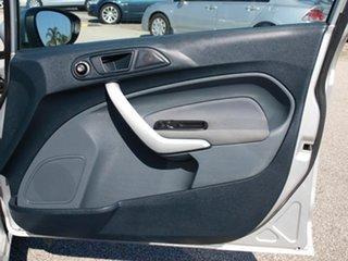 2011 Ford Fiesta WT CL PwrShift Silver 6 Speed Sports Automatic Dual Clutch Sedan