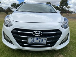 2015 Hyundai i30 GD3 Series II MY16 Active X Polar White 6 Speed Sports Automatic Hatchback