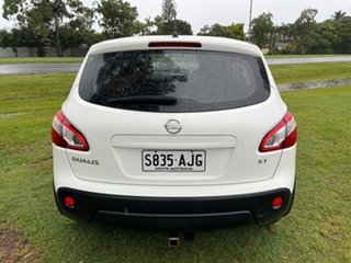 2010 Nissan Dualis J10 MY2009 ST Hatch White 6 Speed Manual Hatchback