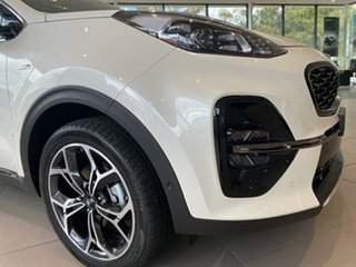 2020 Kia Sportage QL MY21 GT-Line AWD Snow White Pearl 6 Speed Sports Automatic Wagon.