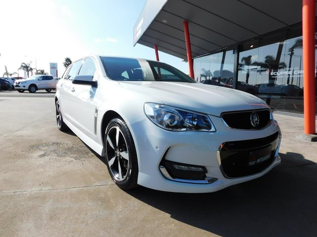 Pre-Owned Holden Commodore VF II MY17 SV6 Sportwagon Wonthaggi, 2017 Holden Commodore VF II MY17 SV6 Sportwagon White 6 Speed Sports Automatic Wagon