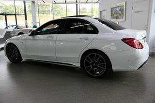2017 Mercedes-Benz C-Class W205 807+057MY C43 AMG 9G-Tronic 4MATIC White 9 Speed Sports Automatic