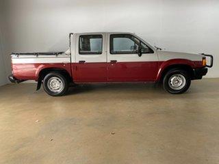 1986 Nissan Navara DX (4x2) Silver 4 Speed Automatic Dual Cab Pick-u.