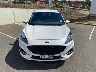 2020 Ford Escape 2020.75MY ST-Line White Platinum 8 Speed NXT SUV