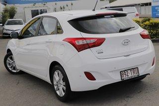2013 Hyundai i30 GD2 Active Creamy White 6 Speed Sports Automatic Hatchback.