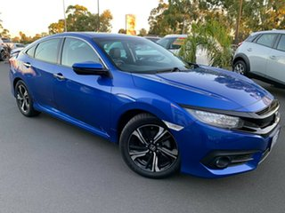 2016 Honda Civic 10th Gen MY16 RS Blue 1 Speed Constant Variable Sedan.