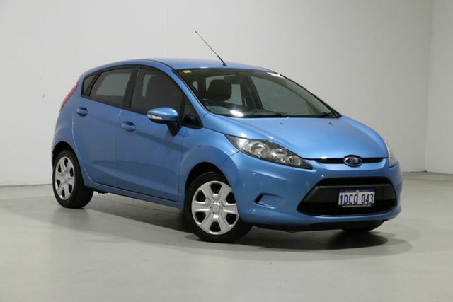 Used Ford Fiesta WS CL Bentley, 2009 Ford Fiesta WS CL Blue 5 Speed Manual Hatchback