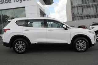 2018 Hyundai Santa Fe TM MY19 Active Pearl White 8 Speed Sports Automatic Wagon.