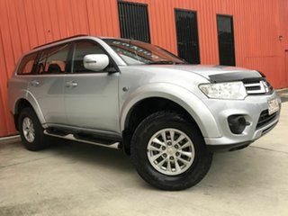 2014 Mitsubishi Challenger PC (KH) MY14 Silver 5 Speed Sports Automatic Wagon.