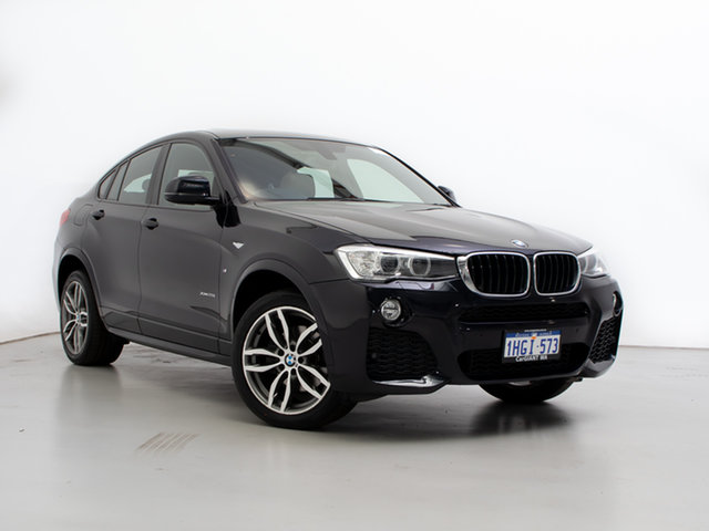 Used BMW X4 F26 MY15 xDrive 20I, 2015 BMW X4 F26 MY15 xDrive 20I Blue 8 Speed Automatic Coupe