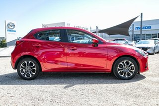 2015 Mazda 2 DJ2HAA Genki SKYACTIV-Drive Red 6 Speed Sports Automatic Hatchback