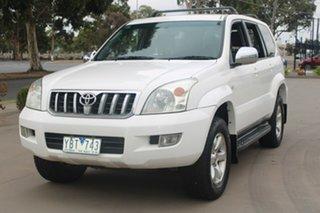2006 Toyota Landcruiser Prado GRJ120R MY07 GXL (4x4) White 6 Speed Manual Wagon