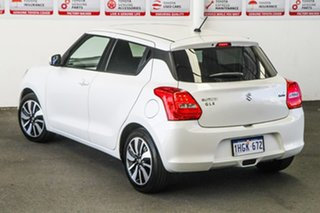 2019 Suzuki Swift AL GLX Turbo White 6 Speed Automatic Hatchback.