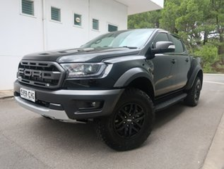 2020 Ford Ranger PX MkIII 2020.75MY Raptor Black 10 Speed Sports Automatic Double Cab Pick Up.