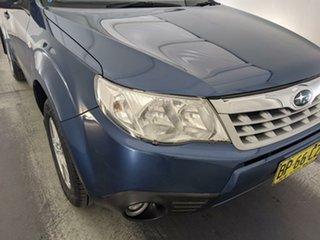 2011 Subaru Forester S3 MY11 X AWD Blue 4 Speed Sports Automatic Wagon.