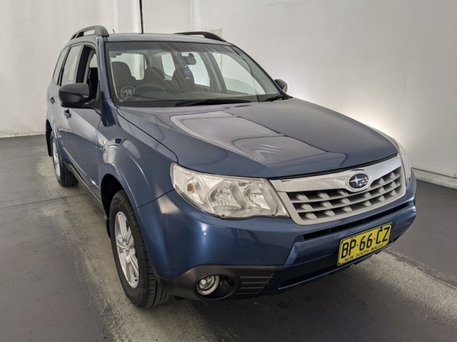 Used Subaru Forester S3 MY11 X AWD Maryville, 2011 Subaru Forester S3 MY11 X AWD Blue 4 Speed Sports Automatic Wagon