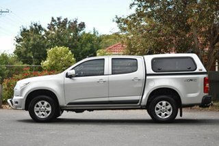 2014 Holden Colorado RG MY14 LT Crew Cab Silver 6 Speed Sports Automatic Utility