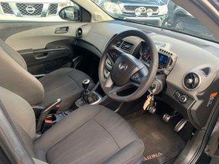 2015 Holden Barina TM MY15 CD Trio Black 5 Speed Manual Hatchback
