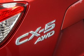 2013 Mazda CX-5 MY13 Grand Tourer (4x4) Red 6 Speed Automatic Wagon