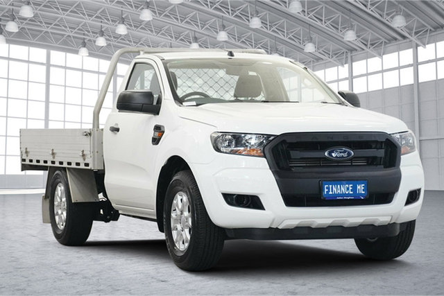 Used Ford Ranger PX MkII 2018.00MY XL Victoria Park, 2018 Ford Ranger PX MkII 2018.00MY XL White 6 Speed Manual Cab Chassis