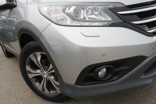 2013 Honda CR-V RM VTi-L 4WD Alabaster Silver 5 Speed Automatic Wagon.