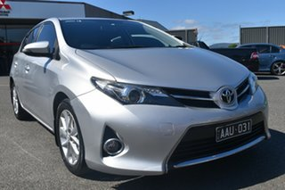 2013 Toyota Corolla ZRE182R Ascent Sport S-CVT Billet Silver 7 Speed Constant Variable Hatchback.