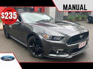 2015 Ford Mustang FM Fastback Metallic Grey 6 Speed Manual Fastback.
