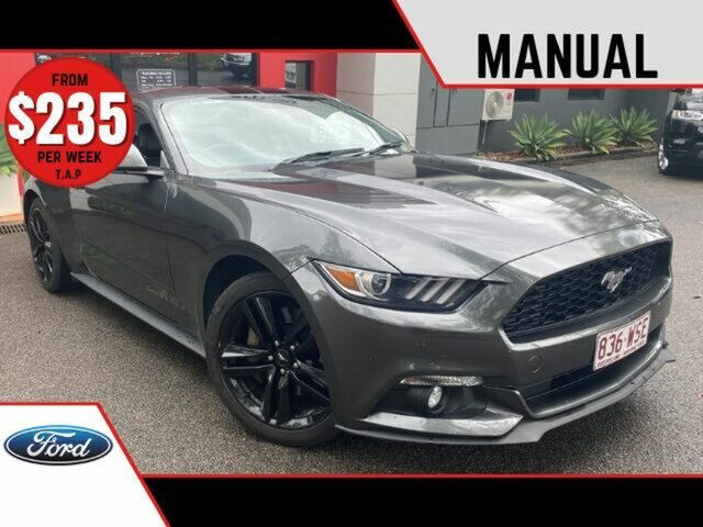 Used Ford Mustang FM Fastback Ashmore, 2015 Ford Mustang FM Fastback Metallic Grey 6 Speed Manual Fastback