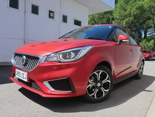 2020 MG MG3 SZP1 MY21 Excite Red 4 Speed Automatic Hatchback.