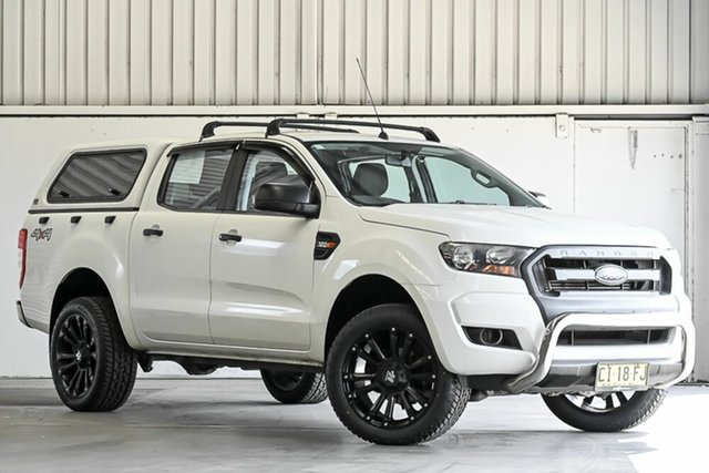 Used Ford Ranger PX MkII XL Laverton North, 2016 Ford Ranger PX MkII XL White 6 Speed Sports Automatic Cab Chassis