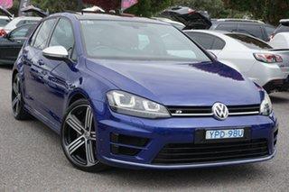 2016 Volkswagen Golf VII MY16 R 4MOTION Lapiz Blue 6 Speed Manual Hatchback.