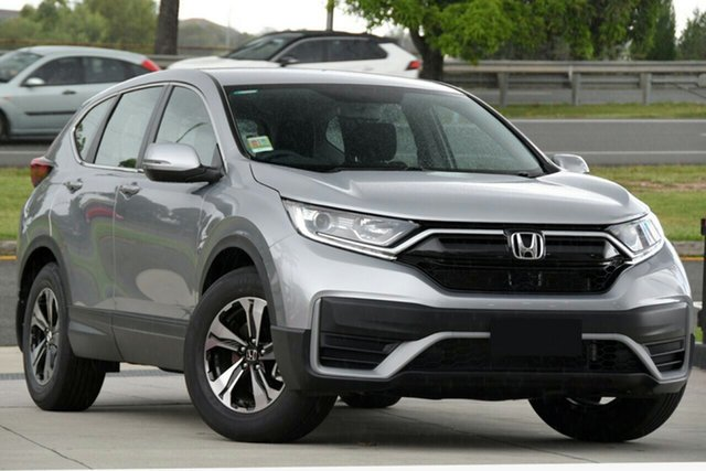 New Honda CR-V RW MY21 Vi FWD Hornsby, 2020 Honda CR-V RW MY21 Vi FWD Lunar Silver 1 Speed Constant Variable Wagon