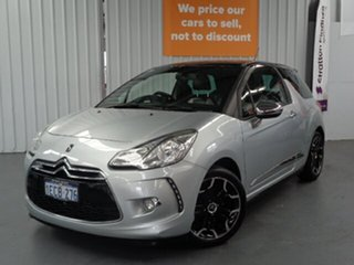 2012 Citroen DS3 MY12 DSport Silver 6 Speed Manual Hatchback