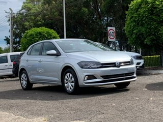 2020 Volkswagen Polo AW MY20 70TSI Trendline Silver 5 Speed Manual Hatchback.