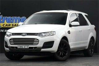2016 Ford Territory SZ MkII TX Seq Sport Shift AWD Winter White 6 Speed Sports Automatic Wagon.