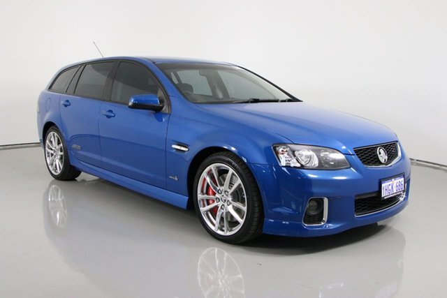 Used Holden Commodore VE II MY12 SS-V Redline Edition Bentley, 2012 Holden Commodore VE II MY12 SS-V Redline Edition Blue 6 Speed Automatic Sportswagon