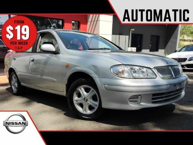 Used Nissan Pulsar N16 TI Ashmore, 2000 Nissan Pulsar N16 TI Metallic Silver 4 Speed Automatic Sedan