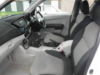 2011 Mitsubishi Triton MN GLX White 5 Speed Manual Extracab