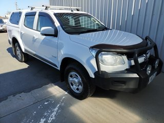 2012 Holden Colorado RG MY13 LX Crew Cab 5 Speed Manual Utility.