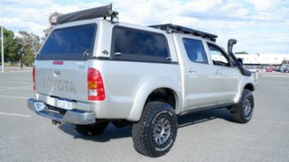 2007 Toyota Hilux GGN25R MY07 SR5 Silver 5 Speed Automatic Utility