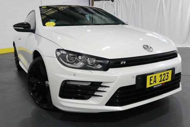 Used Volkswagen Scirocco 1S MY17 R Coupe Wolfsburg Edition Castle Hill, 2016 Volkswagen Scirocco 1S MY17 R Coupe Wolfsburg Edition White 6 Speed Manual Hatchback