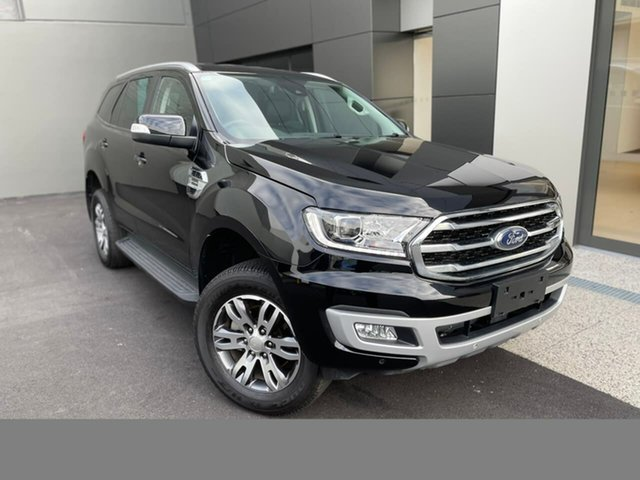 Used Ford Everest UA II 2020.25MY Trend Hobart, 2020 Ford Everest UA II 2020.25MY Trend Black 10 Speed Sports Automatic SUV