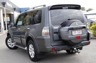 2012 Mitsubishi Pajero NW MY12 Platinum Graphite 5 Speed Sports Automatic Wagon.