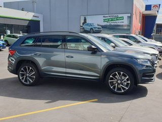 2020 Skoda Kodiaq NS MY21 132TSI DSG Sportline Grey 7 Speed Sports Automatic Dual Clutch Wagon.