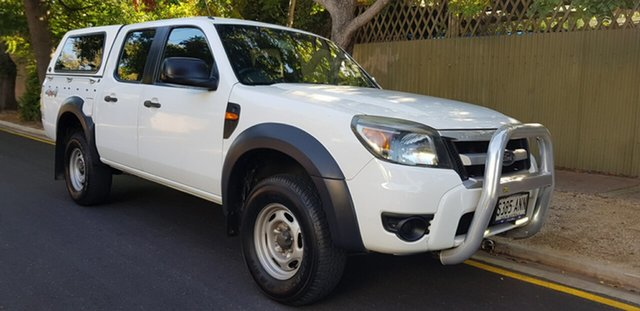 Used Ford Ranger PK XL (4x4) Prospect, 2009 Ford Ranger PK XL (4x4) White 5 Speed Automatic Dual Cab Chassis
