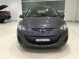 2013 Mazda 2 DE10Y2 MY14 Neo Sport Meteor Grey 4 Speed Automatic Hatchback