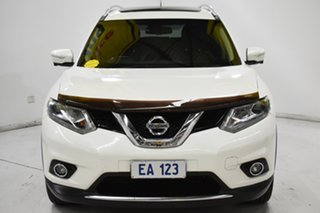 2015 Nissan X-Trail T32 Ti X-tronic 4WD White 7 Speed Constant Variable Wagon.