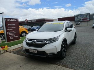 2019 Honda CR-V RW MY19 VTi-LX 4WD White 1 Speed Constant Variable Wagon.